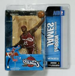 LEBRON JAMES  CLEVELAND CAVALIERS NBA McFarlane Series 7 Act