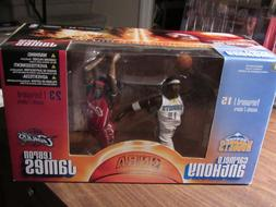 Lebron James Carmelo Anthony Mcfarlane Figure 2 Pack Cavalie
