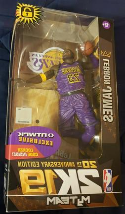 LEBRON JAMES - NBA 2K19 McFarlane Toys NTWRK exclusive Los A