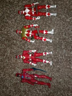 legacy mighty morphin 5 inch armored red