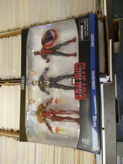 Marvel Legends Captain America Civil War 6-inch Figure 3-pac
