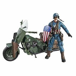 Marvel Legends Series 6-Inch Captain America Action Figure w