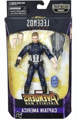 Marvel Legends Series Avengers Infinity War 6-inch Captain A