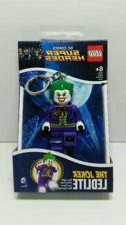 LEGO THE JOKER LIGHT UP KEY RING FIGURE