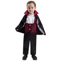 Totally Ghoul Lil' Little Vampire Jumpsuit Toddler Boy's Hal