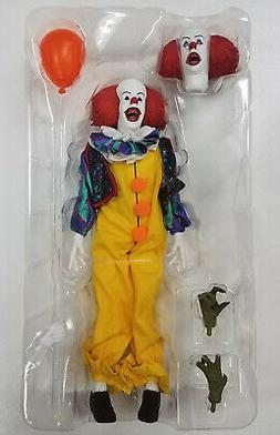 "LOOSE NECA Stephen King IT The Movie PENNYWISE 1990 8"" Retro"