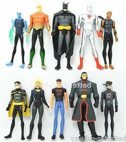 Lot 10 DC Universe Young Justice League Teen Titans Aquaman