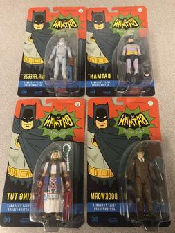 Lot 4 Funko Batman 1966 TV Series DC Heroes Mr. Freeze Actio