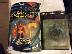 lot of 2 batman action figure kotobukiya mini-figures series