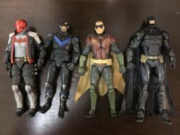 Lot Of 4 DC Comics Collectibles Batman Arkham Knight Action