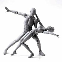 Male/Female Action Figma Archetype Figure Body Toy Arts Anim
