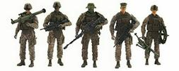 marine recon action figure 4 marine figures