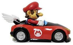 "Nintendo Mario Kart Wii Pull-Back Car Mini Figure - 3"" Mario"