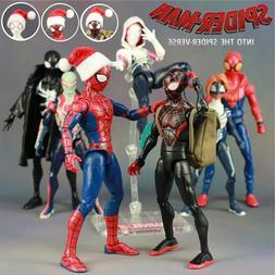 Marvel 2018 Spiderman Into The Spider Verse Cartoon Movie <f