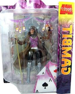 Marvel Select Action Figure Gambit Longer Hair Variant by Di