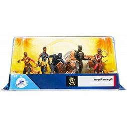 Disney Marvel Comics Black Panther 6 Piece Figure Play Set