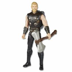 Marvel Avengers Infinity War Titan Hero Power FX Thor