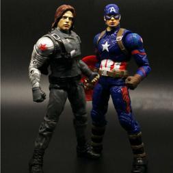Marvel Legends Civil War Captain America Winter Soldier Acti