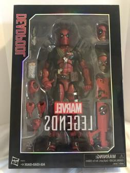 MARVEL LEGENDS DEADPOOL Red 12 Inch 1:6 Action Figure Sealed