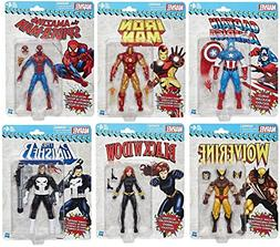 Marvel Legends Vintage Action Figure Collection Set of 6 - S