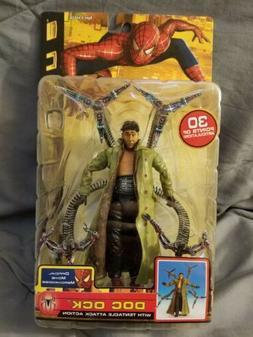 Marvel Spider-Man 2 Movie 2004 Doc Ock Tentacle Attack Toy B