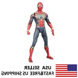 Marvel Spiderman Avengers Infinity War Iron Hero Action Figu