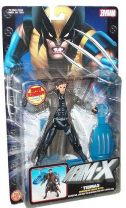 Marvel 2004 X-Men 6 Inch Tall Action Figure - Gambit with Su