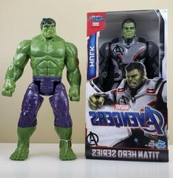 Marvel Titan Hero Series Avengers: Hulk  + Hulk 12' Inch Set
