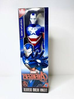 Avengers Marvel Titan Hero Series 12-inch Iron Patriot Figur