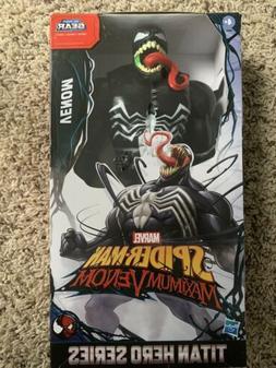 Marvel Titan Hero Series Spider-Man Maximum Venom 12 Inch Ac