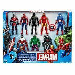 Avengers Marvel Action Figure Set Ultimate Protectors Editio