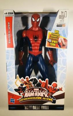 Marvel Ultimate SPIDERMAN Titan Hero Tech 12 Inch Talking Fi