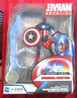 Marvel Universe 2012 COMIC CAPTAIN AMERICA FIGURE 3 3/4 Inch