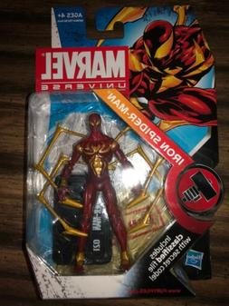 Marvel Universe 3 3/4 Inch Action Figure 3.75 Iron Spider-Ma