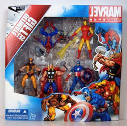Marvel Universe 3 3/4 Inch Action Figure 5Pack Avengers Ulti