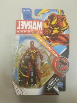 """Marvel Universe 3.75"""" Iron Spider-Man Action Figure New Aven"""