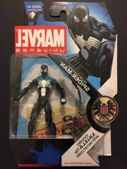 Hasbro Marvel Universe Black Costume Spider-Man 3.75 Inch Ac