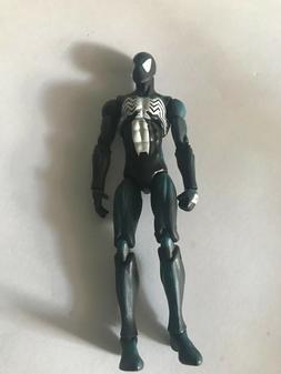 """MARVEL UNIVERSE BLACK SUIT SPIDER-MAN SYMBIOTE RARE 3.75"""" IN"""