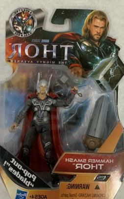 MARVEL UNIVERSE HAMMER SMASH THOR 3.75in Action Figure #07 2