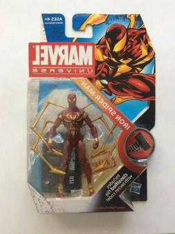 MARVEL UNIVERSE IRON SPIDER-MAN ACTION FIGURE SERIES 2 # 21