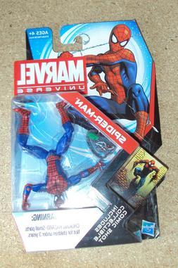 Hasbro Marvel Universe Spider-Man + Collectible Comic Shot 3