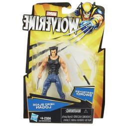 Marvel Wolverine Action Figure Hero Blade Logan 3.75 Inch