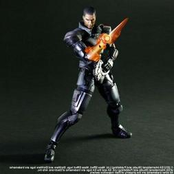 Mass Effect Commander Shepard Action Figure Play Arts Kai Sq