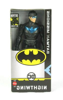 mattel 80 years nightwing 6 inch action