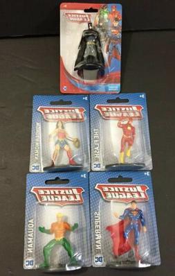 DC Comics Mattel Justice League Action Figures Lot Of 5 Batm