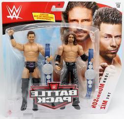 WWE Mattel Miz / John Morrison Battle Packs 67 Basic Figures
