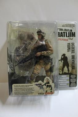 McFarlane Military Redeployed Army Desert Infantry Action Fi