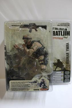 McFarlane Military Redeployed Army Ranger Action Figure FREE