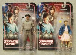 """McFarlane Stranger Things Eleven and Chief Hopper 6"""" Action"""