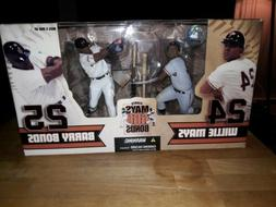 Mcfarlane Willie Mays and Barry Bonds Action Figure Toy San